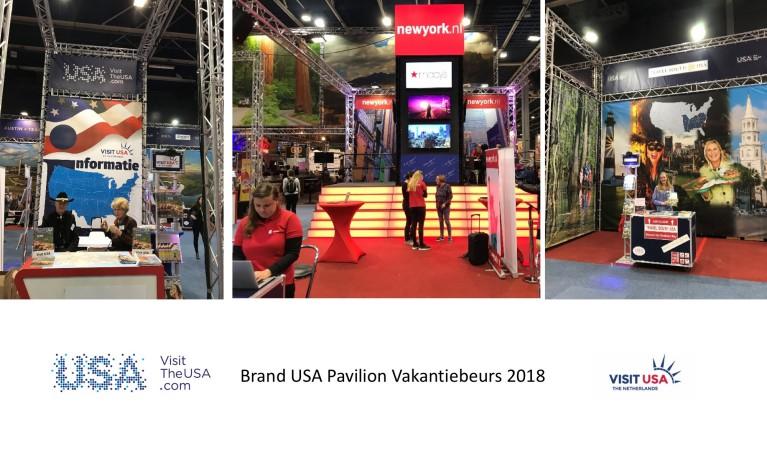Brand USA Paviljoen 2018
