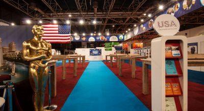 Feel the rhytm in het Brand USA paviljoen