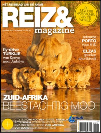Cover Reizen oktober