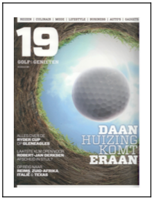 Golf en geniten cover