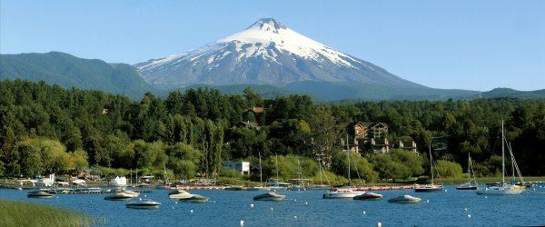 Villarica Vulkaan een van 's werelds meest fotogenieke vulkanen