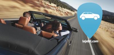 Nieuwe website voor autoverhuurder Lejebil.com