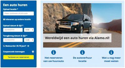 Vol trots lanceert Alamo.nl vandaag haar nieuwe website. Een verbeterde en snellere boekingsmodule, social media integratie en vernieuwde landenpagina's
