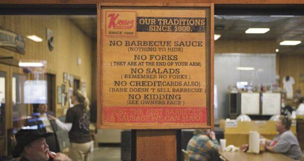 Barbecue zit in het DNA van Texas
