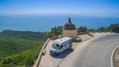 Glamping on wheels in Zuid-Europa
