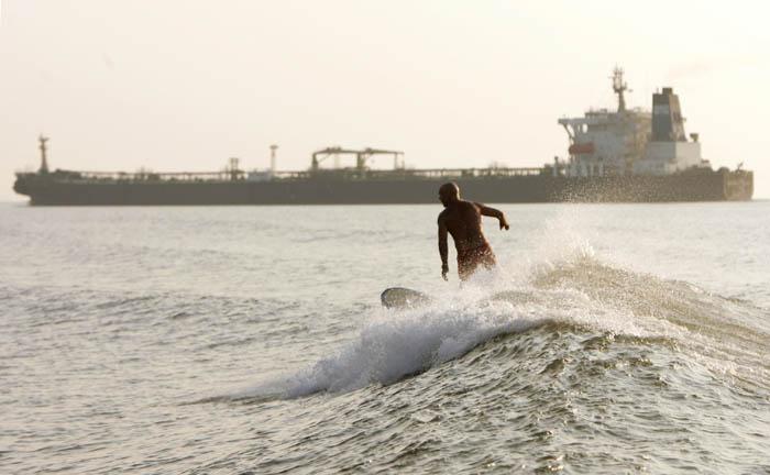 tankersurfen in texas